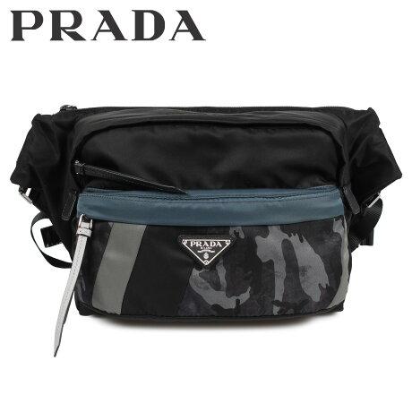 プラダ PRADA バッグ ボディバッグ ショルダーバッグ メンズ レディース NYLON TECHNICALFABRIC CROSSBODY BAG ブラック 黒 2VH038 [10/9 新入荷]