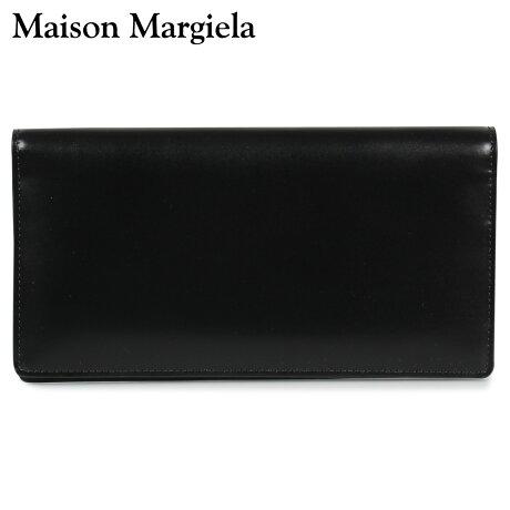 メゾンマルジェラ MAISON MARGIELA 財布 長財布 メンズ レディース LONG WALLET レザー ブラック 黒 S55UI0202 P2714 [10/8 新入荷]
