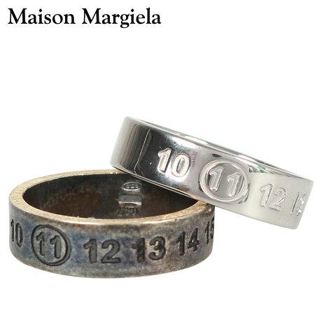 メゾンマルジェラ MAISON MARGIELA 指輪 リング メンズ 刻印 NUMBER RING シルバー S30UQ0016 S11914 [10/8 新入荷]