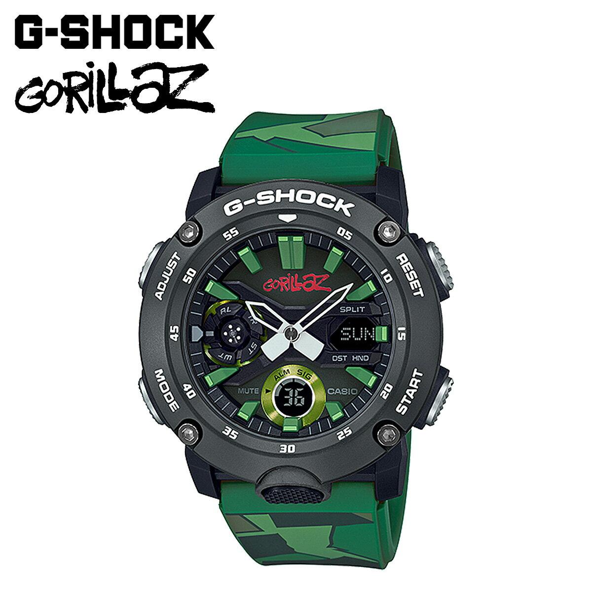 腕時計, メンズ腕時計  CASIO G-SHOCK Gorillaz GA-2000GZ-3AJR G G-