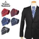 【最大2000円OFFクーポン】 ヴィヴィアンウエストウッド Vivienne Westwood ネクタイ メンズ チェック CHECK TIE 11127 ブランド