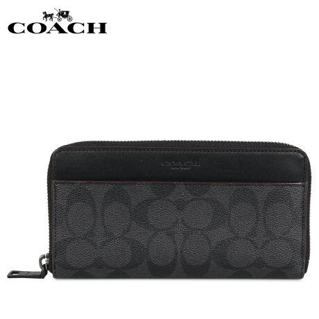 コーチ COACH 財布 長財布 メンズ ブラック 黒 F25517 [予約 1月下旬 再入荷予定]