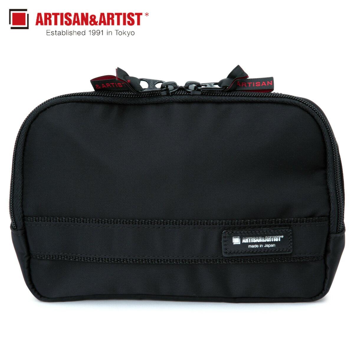 レディースバッグ, 化粧ポーチ 2000OFF ARTISANARTIST SIMPLEBASIC 7WP-BS110H