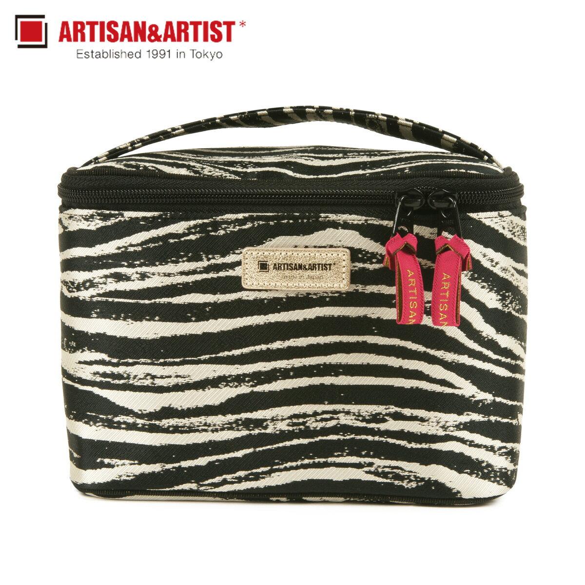 レディースバッグ, 化粧ポーチ  ARTISANARTIST ZEBRA CHIC 9WP-ZB913