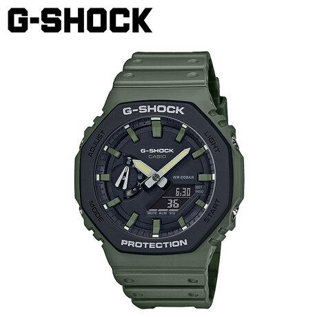 カシオ CASIO G-SHOCK 腕時計 GA-2110SU-3AJF メンズ レディース カーキ [予約 2月上旬 再入荷予定]