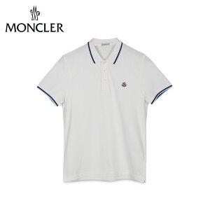 モンクレール MONCLER ポロシャツ 半袖 メンズ POLO SHIRTS ホワイト白 83130 99 84444