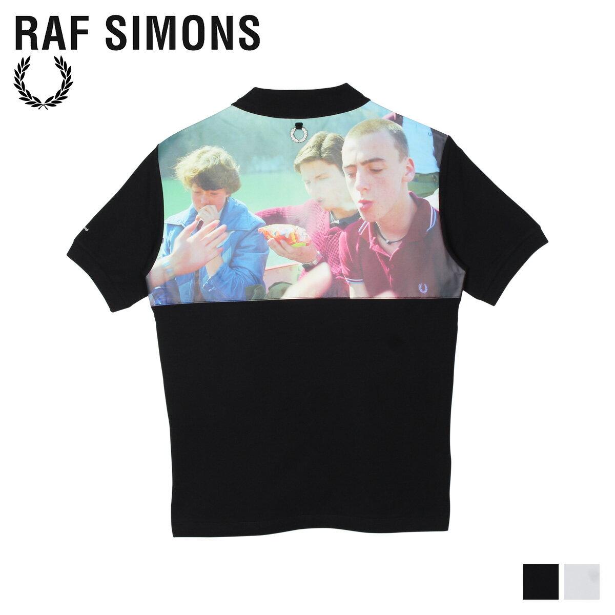 メンズウェア, ポロシャツ  FRED PERRY RAF SIMONS YOKE PRINT POLO SM8127