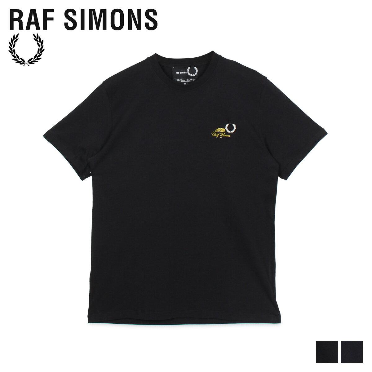 トップス, Tシャツ・カットソー 2000OFF FRED PERRY RAF SIMONS T T-SHIRT SM8130