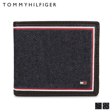 トミーヒルフィガー TOMMY HILFIGER 財布 二つ折り メンズ BILFOLD WALLET/COIN WALLET ブラック ネイビー 黒 31TL130075 [予約 1月下旬 追加入荷予定]