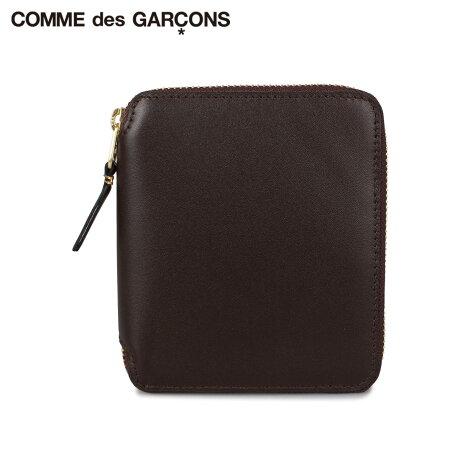コムデギャルソン COMME des GARCONS 財布 二つ折り メンズ レディース ラウンドファスナー CLASSIC ブラウン SA2100 [予約 1月下旬 新入荷予定]