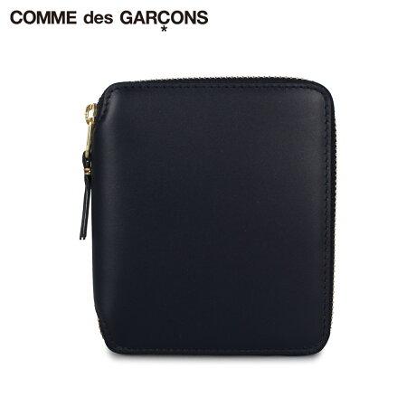 コムデギャルソン COMME des GARCONS 財布 二つ折り メンズ レディース ラウンドファスナー CLASSIC ネイビー SA2100 [予約 1月下旬 新入荷予定]