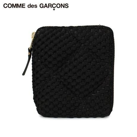 コムデギャルソン COMME des GARCONS 財布 二つ折り メンズ レディース ラウンドファスナー FAT TORTOISE ブラック 黒 SA2100FT [予約 1月下旬 新入荷予定]
