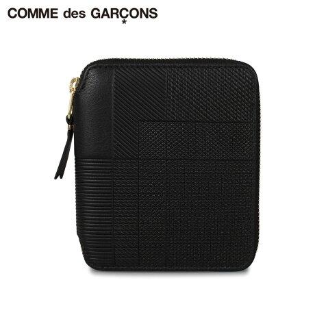 コムデギャルソン COMME des GARCONS 財布 二つ折り メンズ レディース ラウンドファスナー INTERSECTION ブラック 黒 SA2100LS [予約 1月下旬 新入荷予定]