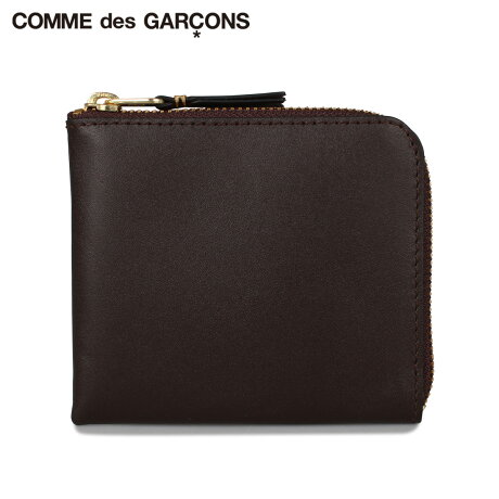 コムデギャルソン COMME des GARCONS 財布 ミニ財布 メンズ レディース L字ファスナー CLASSIC ブラウン SA3100 [予約 1月下旬 新入荷予定]