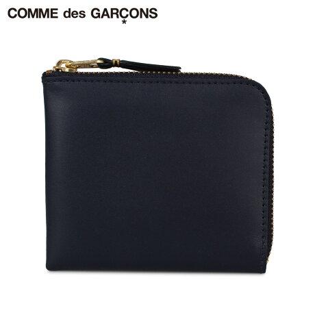 コムデギャルソン COMME des GARCONS 財布 ミニ財布 メンズ レディース L字ファスナー CLASSIC ネイビー SA3100 [予約 1月下旬 新入荷予定]