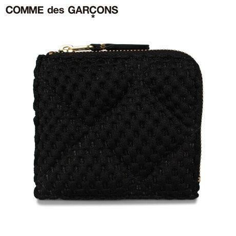 コムデギャルソン COMME des GARCONS 財布 ミニ財布 メンズ レディース L字ファスナー FAT TORTOISE ブラック 黒 SA3100FT [予約 1月下旬 新入荷予定]