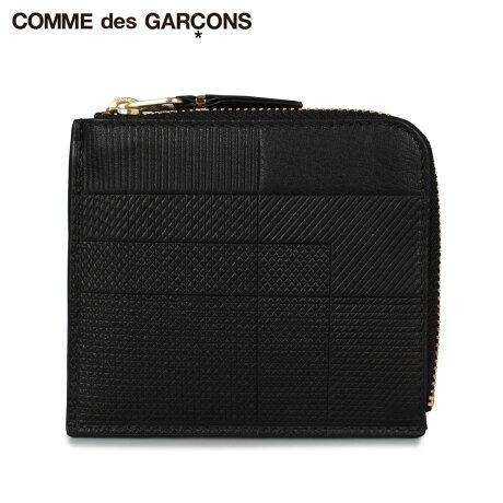 コムデギャルソン COMME des GARCONS 財布 ミニ財布 メンズ レディース L字ファスナー INTERSECTION ブラック 黒 SA3100LS [予約 1月下旬 新入荷予定]