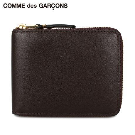 コムデギャルソン COMME des GARCONS 財布 二つ折り メンズ レディース ラウンドファスナー CLASSIC ブラウン SA7100 [予約 1月下旬 新入荷予定]