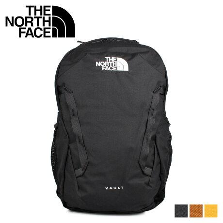 ノースフェイス THE NORTH FACE リュック バッグ バックパック ヴォルト メンズ レディース 27L VAULT ブラック ブラウン イエロー 黒 NF0A3VY2