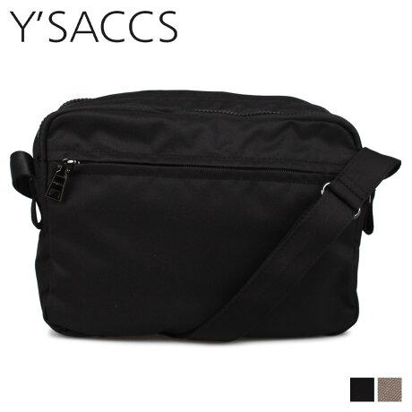 イザック Y'SACCS ショルダーバッグ バッグ レディース SHOULDER BAG ブラック グレージュ 黒 YV002-02 [予約 1月下旬 新入荷予定]