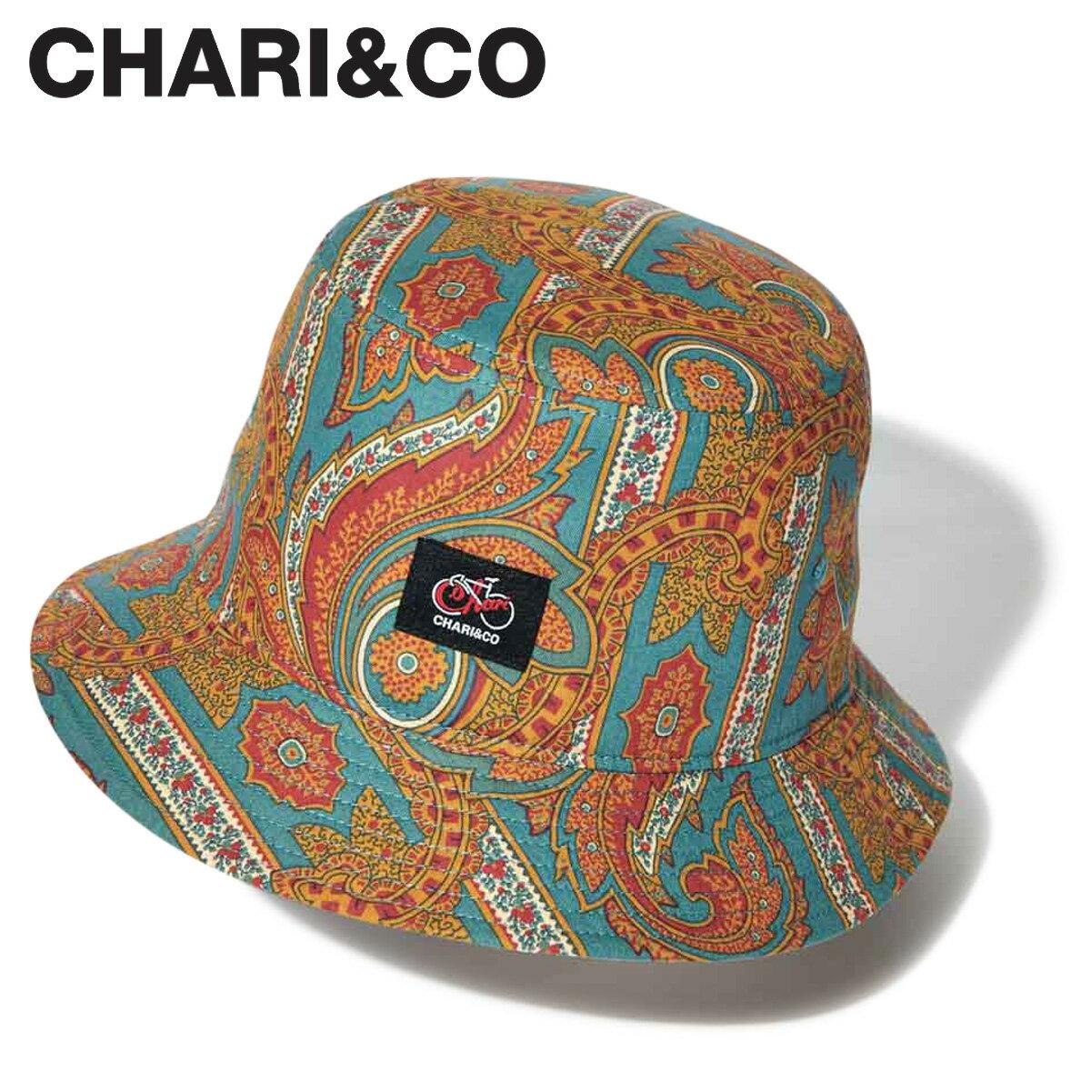 メンズ帽子, キャップ 2000OFF CHARICO USA FABRIC PAISLEY BUCKET HAT