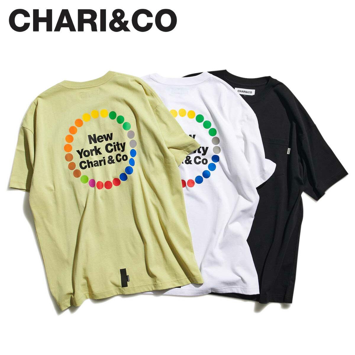 トップス, Tシャツ・カットソー 2000OFF CHARICO T SUBWAY LOGO TEE