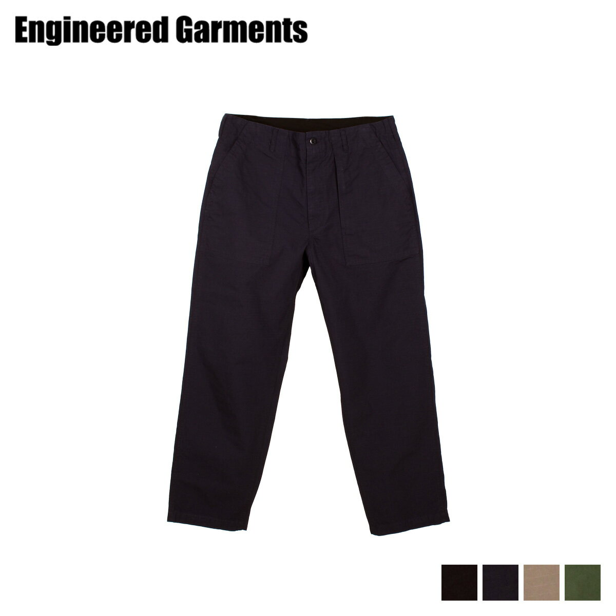 メンズファッション, ズボン・パンツ 1000OFF ENGINEERED GARMENTS FATIGUE PANT 21S1F004-01