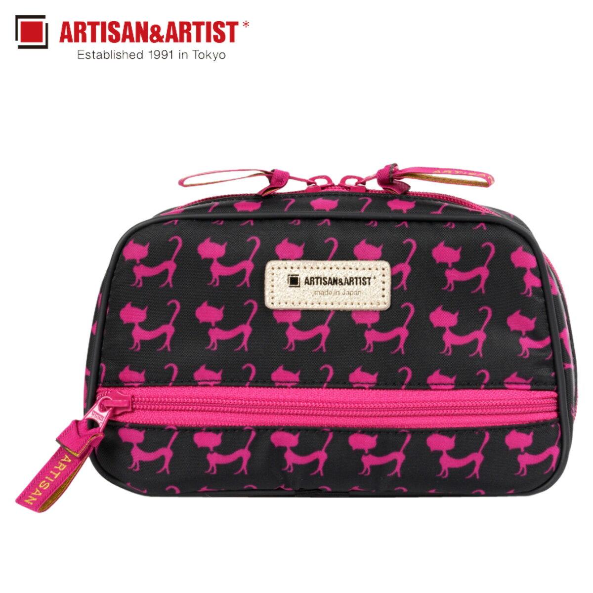 レディースバッグ, 化粧ポーチ 1000OFF ARTISANARTIST SUB POUCH WITH SMART TISSUE CASE 1WP-GLT117