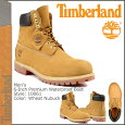 �ƥ���С�����/Timberland/6������ץ�ߥ��०���������ץ롼�ե֡���[��������]10061/6inchPremiumWaterproofBoot/�̥Хå�/���[3/29�ɲ�����-ͽ��]�����?�֡��ġڡ�S��