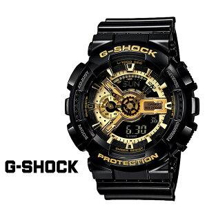カシオCASIOG-SHOCK腕時計GA-110GB-1AJFBLACKGOLDSERIESGショックG-ショックブラックゴールドメンズレディースあす楽