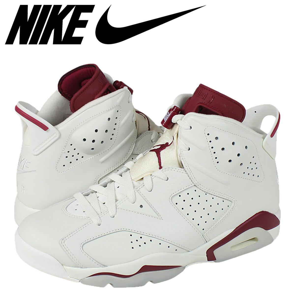 メンズ靴, スニーカー NIKE AIR JORDAN 6 RETRO MAROON 6 384664-116 zzi