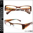アランミクリ alain mikli メガネ 眼鏡 A0649 13 ブラウン セルフレーム メガネ サングラス メンズ レディース [S50] [返品不可]