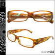 アランミクリ alain mikli メガネ 眼鏡 AL0848 0001 ブラウン イエロー セルフレーム メガネ サングラス メンズ レディース [S50] [返品不可]