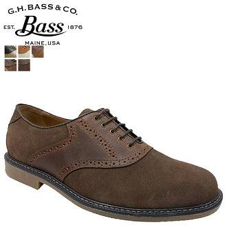ジーエイチバス G... H... BASS saddle shoes BUCHANON Buchanan D wise leather mens
