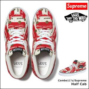 シュプリーム×バンズ/Supreme/ スニーカー [マルチカラー]Half Cab/Andy Worhol/バンズ VANS コラボ/メンズ[5/23 新入荷-予約][正規]★★