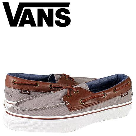 VANS スニーカー メンズ バンズ ヴァンズ ZAPATO DEL BARCO VN-0OK75OU 靴 グレー