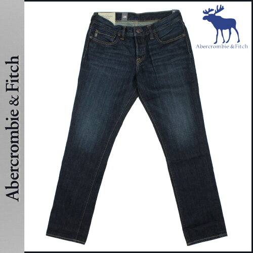 [SOLD OUT] アバクロンビー&フィッチ Abercrombie&Fitch ヴィンテージデニム インディゴ 131-318-0...