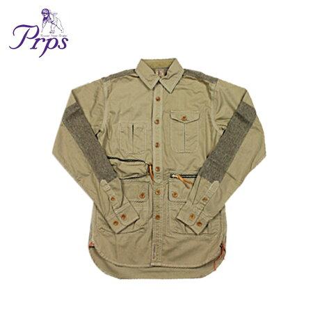 PRPS ピーアールピーエス ジャケット シャツジャケット メンズ