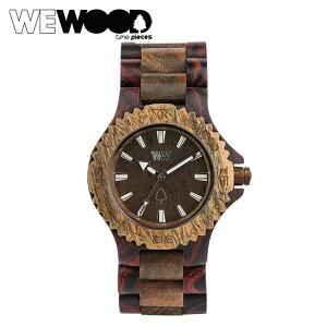 ウィーウッドWEWOOD腕時計DATEブラウンアーミーBROWNARMYNATURALWOODデイトウォッチ時計メンズレディースあす楽