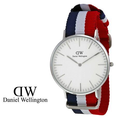 ダニエルウェリントン Daniel Wellington 40mm 腕時計 メンズ CLASSIC CAMBRIDGE シルバー