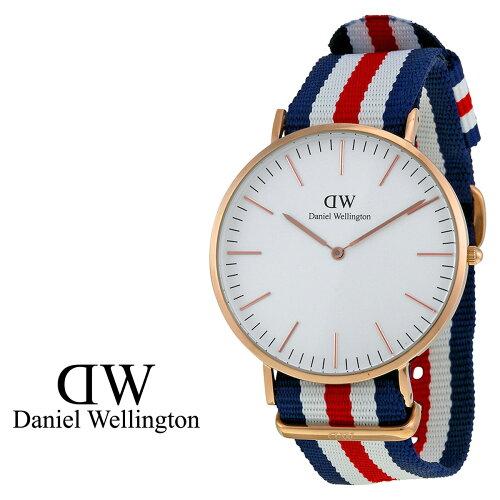 ダニエルウェリントン Daniel Wellington 40mm 腕時計 メンズ CLASSIC CANTERBURY ローズゴールド ...