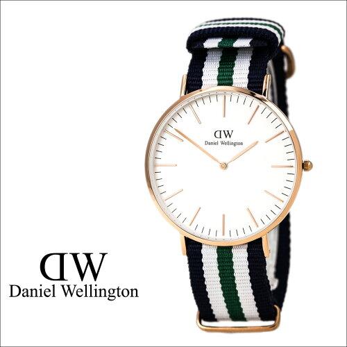 ダニエルウェリントン Daniel Wellington 40mm 腕時計 メンズ CLASSIC NOTTINGHAM WRIST ローズゴ...