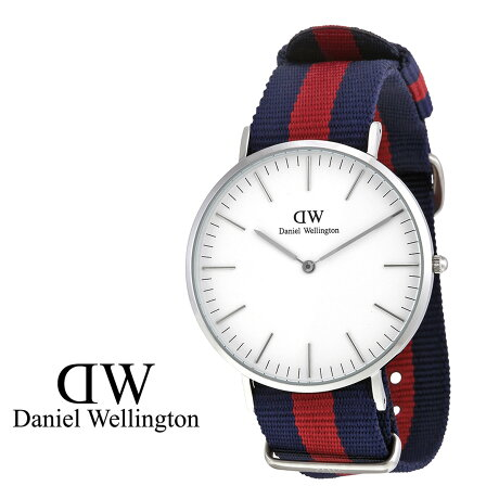 ダニエルウェリントン Daniel Wellington 40mm 腕時計 メンズ CLASSIC OXFORD シルバー