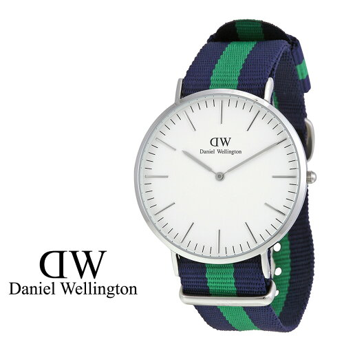 ダニエルウェリントン Daniel Wellington 40mm 腕時計 メンズ CLASSIC WARWICK シルバー [S20]