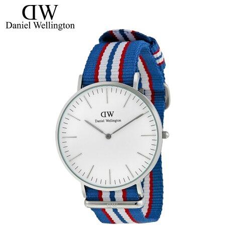 ダニエルウェリントン Daniel Wellington 40mm 腕時計 メンズ CLASSIC BELFAST シルバー