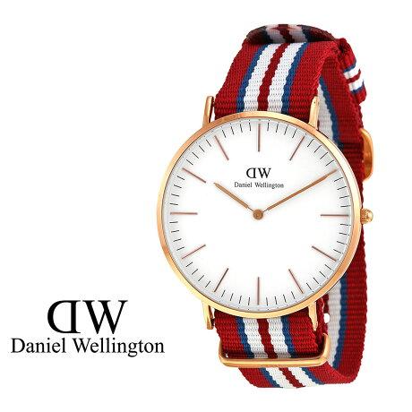 ダニエルウェリントン Daniel Wellington 40mm 腕時計 メンズ CLASSIC EXETER ローズゴールド
