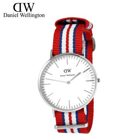 ダニエルウェリントン Daniel Wellington 40mm 腕時計 メンズ CLASSIC EXETER シルバー