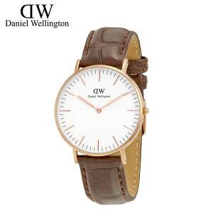 ダニエルウェリントンDanielWellington36mm腕時計レディースCLASSICYORKLADYローズゴールド