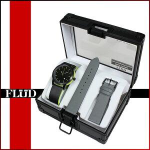 送料無料フラッドウォッチFLUDWATCHES腕時計[ブラック]OX001ONYXWATCHウォッチメンズレディース[11/11新入荷][正規]★★