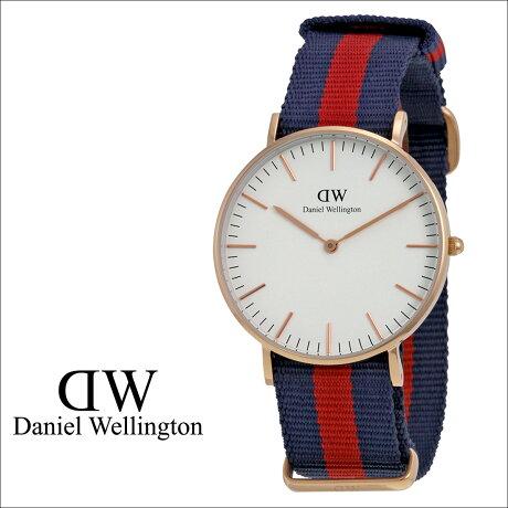 ダニエルウェリントン Daniel Wellington 36mm 腕時計 レディース CLASSIC OXFORD LADY ローズゴールド NATO